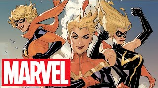 CAPTAIN MARVEL with Terry and Rachel Dodson! | Marvel Quickdraw