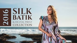 Unique silk painting - dresses by Sasha Tovstik