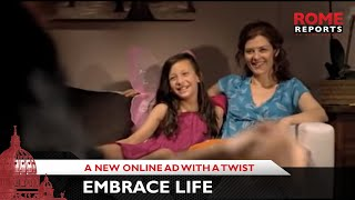 Embrace Life_ A new online ad with a twist