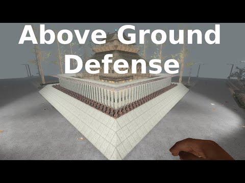 7 days to die alpha 14 above ground base defense design days for Gardening 7 days to die