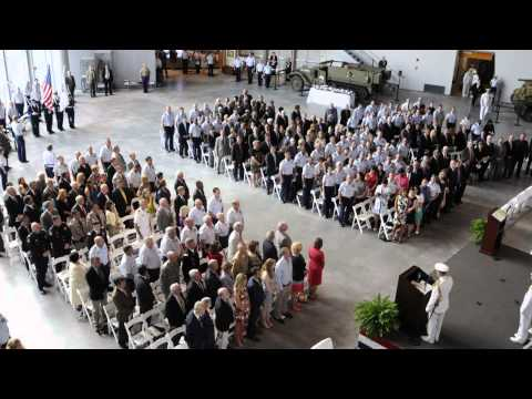 Coast Guard 8th District change-of-command ceremony