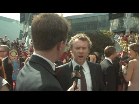 Primetime Emmy 61 Red Carpet Interview - Tate Donovan