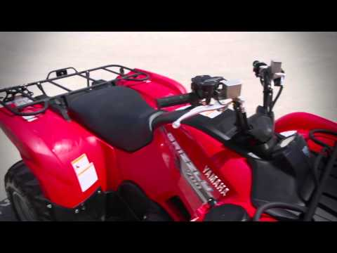 2013 Yamaha Grizzly 700 ATV Test Ride