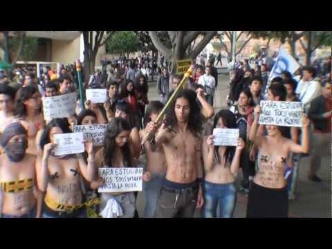Por la educación - Paro Nacional de Estudiantes contra la reforma a la ley 30