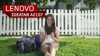 Lenovo IdeaTab A2107 Tablet Tour