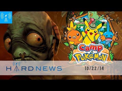 Oddworld Wii U Woes, Camp Pokemon Is A Free, Metallica & Hearthstone  Blizzcon | Hard News 10 22 14 video