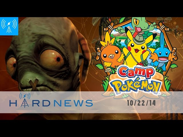Oddworld Wii U Woes, Camp Pokemon is a FREE, Metallica & Hearthstone @ BlizzCon | Hard News 10/22/14