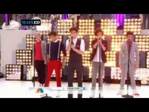 One Direction More Than This Live On Today Show video
