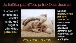 151. Kas ir cilvēks? Dusmu sakne - patmīlība