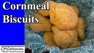 Easy Cornmeal Biscuit Recipe