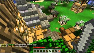 Minecraft PC Multiplayer - Hunger Games - IRON SWORD CAMPING IS WIN