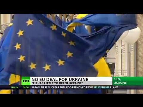 'Lucky Escape': Ukraine jumps from 'sinking ship' as EU deal suspended
