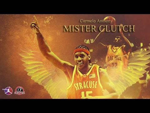 CARMELO ANTHONY MISTER CLUTCH