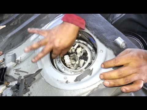 Bmw e46 fuel pump assembly removal 330 325