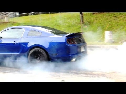 2013 Ford Mustang GT 5.0 vs Modified 2004 Subaru Impreza WRX at the Drag Strip