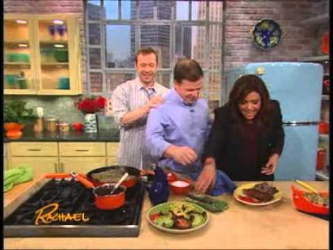 Rachael Ray Show - On the Show - A Surprise for Donnie Wahlberg.wmv