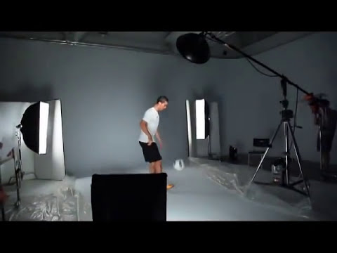 Cristiano Ronaldo - Making of Pro Evolution Soccer 2012.