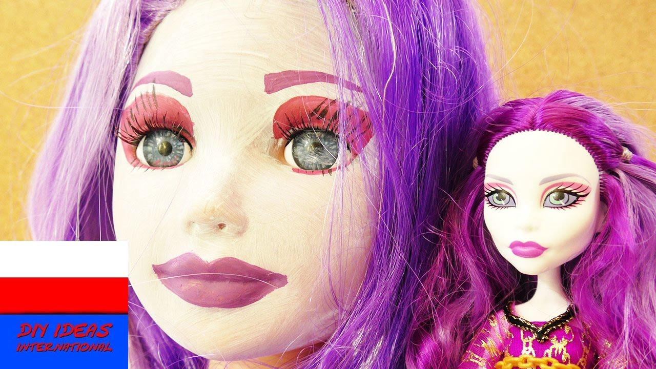 Monster High Spectra Vondergeist Make up und Styling Tutorial | makijaż Spectry z Monster High