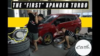 The First Turbo/Boosted Modifikasi Mitsubishi Xpander! Give Away Hoodie Game Over by Earth. #carvlog