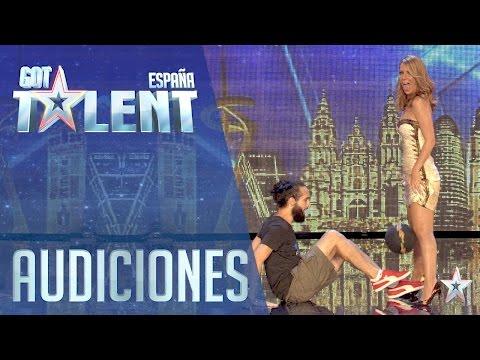 Fútbol Freestyle ¡Menudo manejo con la pelota! | Audiciones 2 | Got Talent España 2016