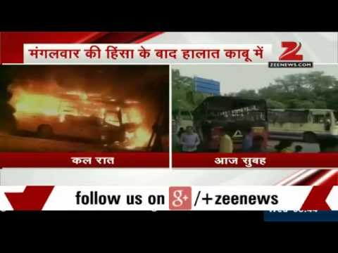 Quota row: Patel agitation turns violent, clashes in Ahmedabad & Surat