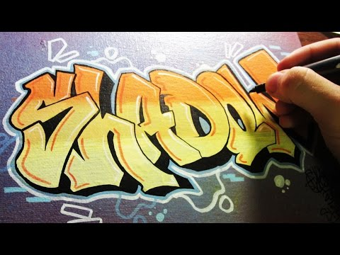 Shadow Graffiti Canvas Speed Art
