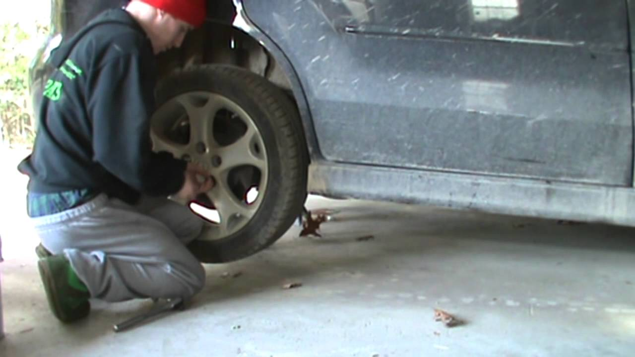 How To Replace Mazda 5 3 Blown Leaky Rear Shocks Youtube