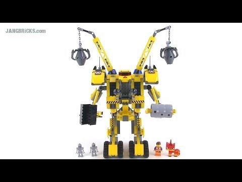LEGO Movie 70814 Emmet's Construct-O-Mech reviewed!
