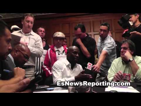 alex ariza in camp with floyd mayweather for maidana 2 fight - EsNews boxing