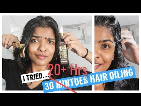 Over Night Hair Oiling Using 10 in 1 Different Oil ??