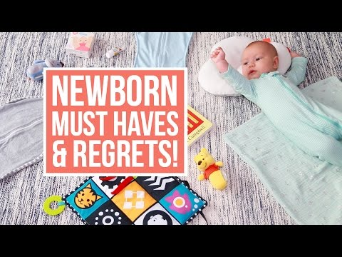 Newborn Essentials + Products I REGRET Buying! streaming vf