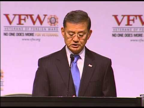 2013 Secretary of Veterans Affairs Eric Shinseki