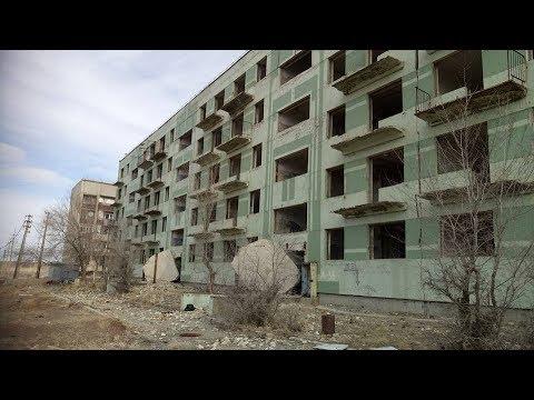 Исчезающий город  Улькен,  в Казахстане