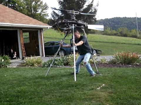 Ultralight Helicopter Project - Video #5