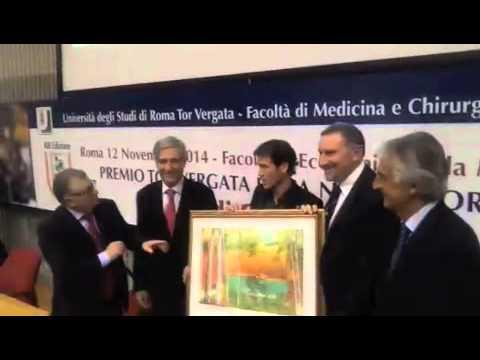 Rudi Garcia ritira il premio Etica nello sport a Tor Vergata