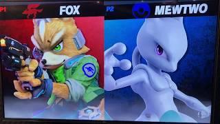 ORG ramble (Fox) vs Aluf (Mewtwo) - Armageddon Expo 2018 Super Smash Bros Ultimate Demo