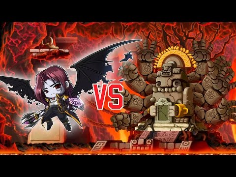 Maplestory Level 127 Demon Slayer Solo Zakum! April 2015