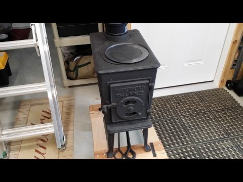 Chimney Pipe installation for wood burning stove