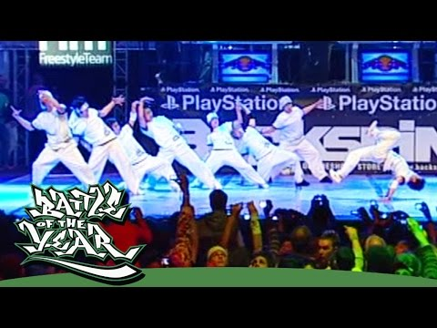 INTERNATIONAL BOTY 2007 – EXTREME CREW (KOREA) SHOWCASE [BOTY TV]
