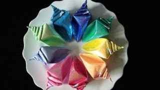 Bearutiful Conch Origami Instruction  Full Version