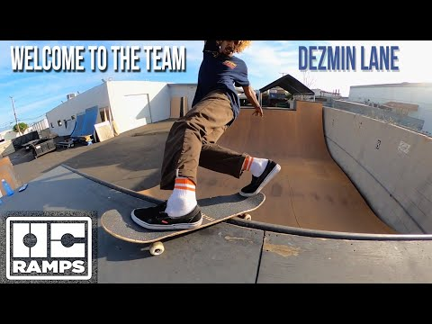 Dezmin Lane - Welcome to the team - OC Ramps