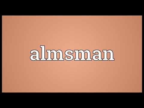 Header of almsman