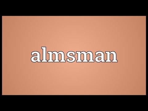Header of almsman