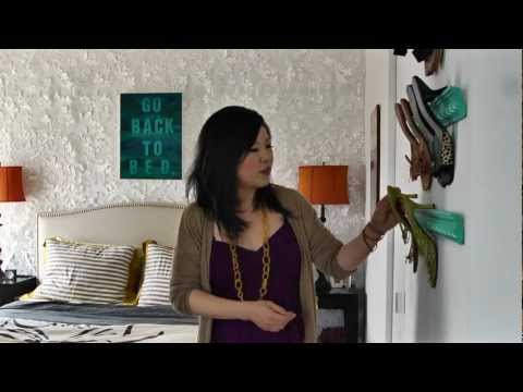 How to design a small rental apartment - Tiny Amazing Eclectic Space v...