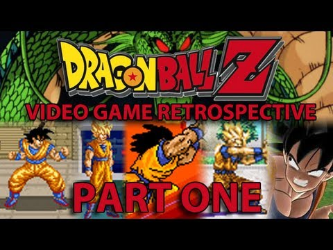 Dragon Ball Z Video Game Retrospective - PART 1 Early Fighting Games