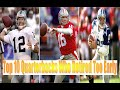 Top 10 Quarterbacks Who Retired Too Early