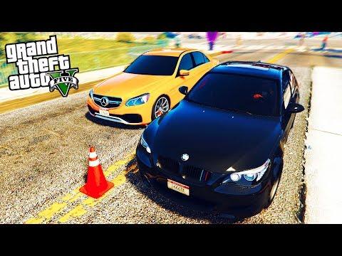 РЕАЛЬНАЯ ЖИЗНЬ В GTA 5 - УЧАСТВУЮ В УЛИЧНЫХ ГОНКАХ НА BMW M5! 🌊ВОТЕР