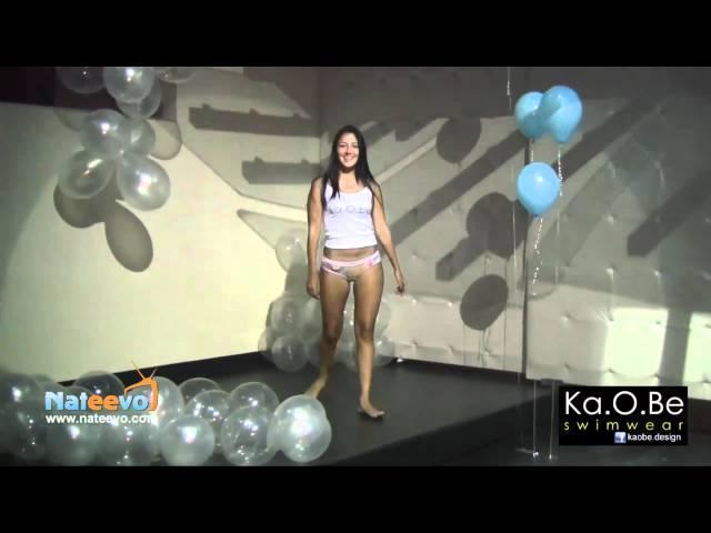 Kaobe pasarela exclusiva en Gaira