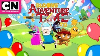 Adventure Time | Bloons Adventure Time TD Game Trailer | Cartoon Network