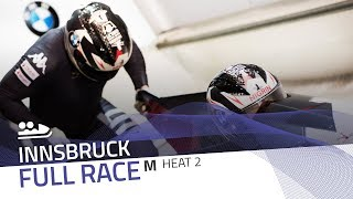 Innsbruck BMW IBSF World Cup 20182019 2Man Bobsleigh Heat 2 IBSF Official